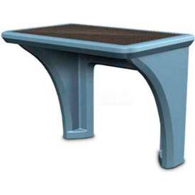 Cortech USA, 7603SB, Endurance Desk, Slate Blue, Fr, Pack of 2