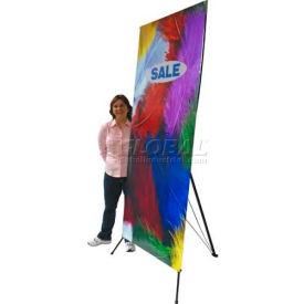 """SpeedPress® Tripod Banner Stand 62""""H x 26""""W"""