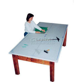 SpeedPress 152G 4' x 8' Rhino Self Healing Cutting Mat W/ Grid