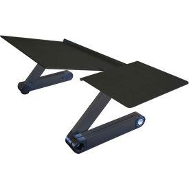 Uncaged Ergonomics WEKTB WorkEZ Keyboard Tray & Mouse Pad, Black