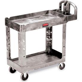 "Rubbermaid Premium Universal Shelf Carts - 30""Wx16""D Shelf - 38-1/8""H - Gray"
