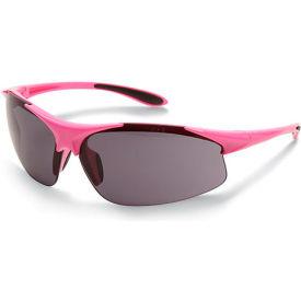 ERB Ella Safety Glasses - Smoke Lens - Pink