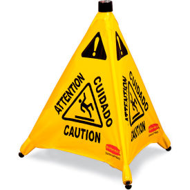 """Rubbermaid Pop-Up Safety Cone 9S00 - Caution - 20"""""""