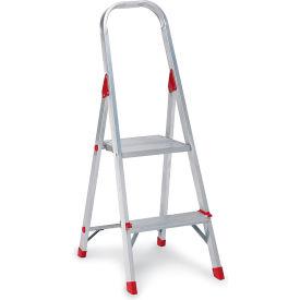 Louisville Type III Aluminum Platform Ladder - 2 Step - L-2346-02