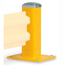 "Wildeck® 18""H Single Column Post For Single Rail, WC18"