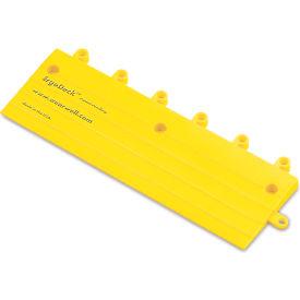 """Wearwell Ramp Edge For Ergodeck Modular Mat Tiles/Ergonomic Flooring - 6X18"""" - Case Of 10"""