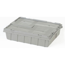 ORBIS Flipak® Distribution Container FP07 - 21-5/8 x 15-1/8 x 5-1/2 Gray