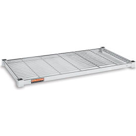 "Relius Solutions Zinc Shelf For Square-Post Open-Wire Shelving - 24""D - 36"" - Pkg Qty 2"