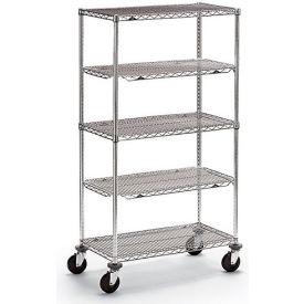 "Metro Qwikslot Extra Shelf For Wire Shelf Trucks - 48""Wx18""D - Fits Truck 4728500"