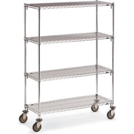 "Metro Super Adjustable Super Erecta Wire Shelf Trucks - 60"" Wx18"" D Shelf - 79"" H"