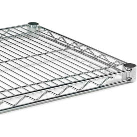 """Extra Shelf For Open Wire Shelving - 48X24"""" - Chromate"""