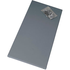 """Edsal Extra Shelf For Economical Open And Closed Steel Shelving - 36X12"""" - Gray"""