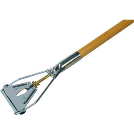 "Rubbermaid Easy Change Style Mop Handle - Steel Head - 60""L - Hardwood"