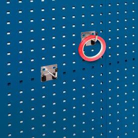 """Bott 15200274 Extended Single Hooks For Perfo Panels - Package Of 10 - 2""""L"""