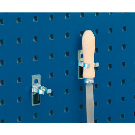 """Bott 15200273 Single-Spring Clips For Perfo Panels - Package Of 10 - 1-1/4""""W"""