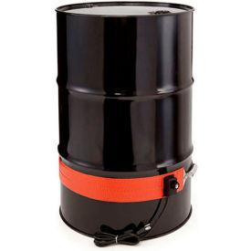 Briskheat Indoor/Outdoor Drum Heaters - For Steel Drums - Fits 55-Gallon Drums - 8.4 Amps