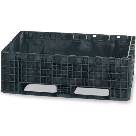 Orbis Heavy-Duty Bulkpak Containers HDRS3230-18 - 32 x 30 x 18 - Fixed Wall Black