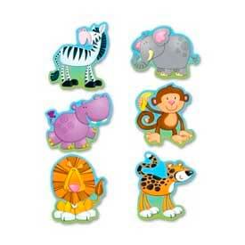 Carson-Dellosa® Jungle Animals Cut-Outs, Multi-Color, 36/Pack