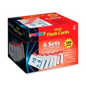 Carson-Dellosa Math Flash Cards, CDP744086, Two-Sided, 324 Cards/Box