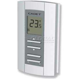 "Cadet® Electronic Non-Programmable Wall Thermostat TH114A-240D 240/208V 16 Amps 2-3/4""L X 1""W"