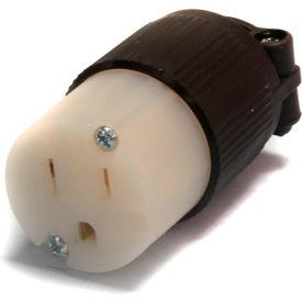 Century® Straight Blade Plug NEMA 5-15C, Connector NEMA, 15A, 125V