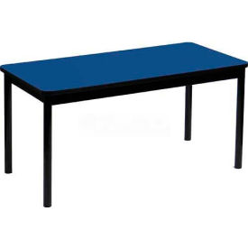 "Correll Library Tables 24""W x 48""L x 29""H - Blue"