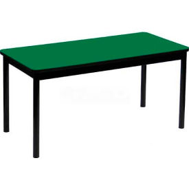 "Correll Library Tables 30""W x 72""L x 29""H - Green"