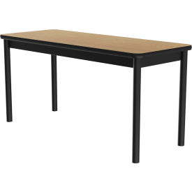 """Correll Science Lab Table - Laminate Top - 24""""W x 60""""L x 36""""H - Fusion Maple"""