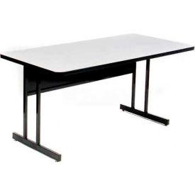 "Correll Training Table - Laminate - 24"" x 72"", Gray Granite"
