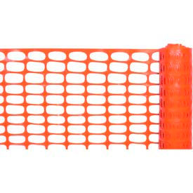 Lightweight Barrier Fence ,Orange 4'X100'