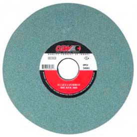"""CGW Abrasives 34627 Green Silicon Carbide Surface Grinding Wheels 7"""" 60 Grit Aluminum Oxide - Pkg Qty 10"""