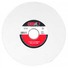 "CGW Abrasives 34649 White Aluminum Oxide Surface Grinding Wheels 7"" 46 Grit Aluminum Oxide - Pkg Qty 10"