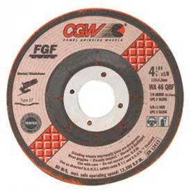 "CGW Abrasives 36279 Depressed Center Wheel 7"" x 1/8"" x 7/8"" Type 29 36 Grit Aluminum Oxide - Pkg Qty 25"