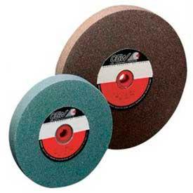 "CGW Abrasives 38521 Bench & Pedestal Grinding Wheel 10"" x 1"" x 1-1/4"" 100 Grit Silicon Carbide - Pkg Qty 5"