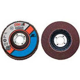 """CGW Abrasives 39255 Abrasive Flap Disc 4"""" x 3/8 - 24"""" 80 Grit Aluminum Oxide - Pkg Qty 10"""