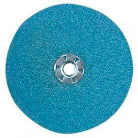 "CGW Abrasives 48232 Resin Fibre Disc 4"" DIA 36 Grit Zirconia - Pkg Qty 25"