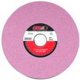 "CGW Abrasives 58029 Pink Surface Grinding Wheels, R/1-3 X 1/2 8"" 60 Grit Aluminum Oxide - Pkg Qty 10"