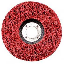 "CGW Abrasives 70053 Ez Strip Wheels, Non-Woven 3"" Fine Silicon Carbide - Pkg Qty 10"