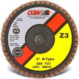 """CGW Abrasives 30006 Abrasive Quick Change Disc 2"""" TR 120 Grit Zirconia - Pkg Qty 10"""
