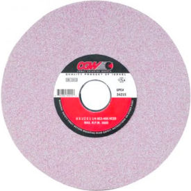 "CGW Abrasives 34217 Tool & Cutter Grinding Wheels 10"" 46 Grit Ceramic Aluminum Oxide - Pkg Qty 5"