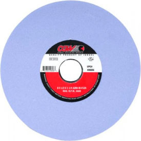 "CGW Abrasives 34358 Az Cool Blue Surface Grinding Wheels 8"" 80 Grit Aluminum Oxide - Pkg Qty 10"