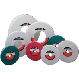 "CGW Abrasives 34685 White Aluminum Oxide Surface Grinding Wheels 8"" 46 Grit Aluminum Oxide - Pkg Qty 10"