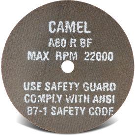 "CGW Abrasives 35500 Metal Cut-Off Wheel 3"" x 1/4"" Type 1 60 Grit Aluminium Oxide - Pkg Qty 50"