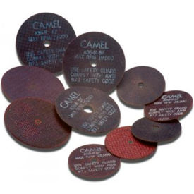 "CGW Abrasives 35512 Metal Cut-Off Wheel 4"" x 3/8"" Type 1 24 Grit Aluminium Oxide - Pkg Qty 25"