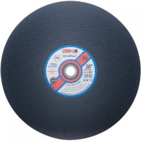 "CGW Abrasives 35580 Metal Cut-Off Wheel 10"" x 1"" Type 1 24 Grit Aluminium Oxide - Pkg Qty 10"