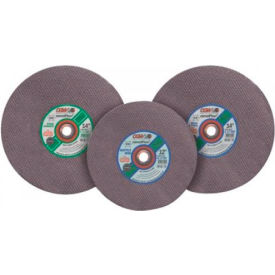 "CGW Abrasives 35605 Masonry Cut-Off Wheel 14"" x 20 mm Type 1 24 Grit Silicon Carbide - Pkg Qty 10"