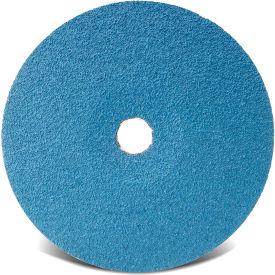 "CGW Abrasives 48101 Resin Fibre Disc 4-1/2"" DIA 24 Grit Zirconia - Pkg Qty 25"