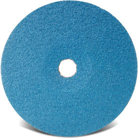 "CGW Abrasives 48122 Resin Fibre Disc 7"" DIA 36 Grit Zirconia - Pkg Qty 25"