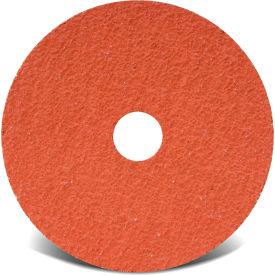 "CGW Abrasives 48185 Resin Fibre Disc 4-1/2"" DIA 60 Grit Ceramic - Pkg Qty 25"