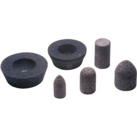"""CGW Abrasives 49006 Cup Wheels 5"""" 16 Grit Silicone Carbide"""